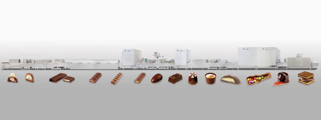Shell moulding line